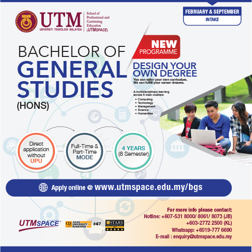 Utm Bachelor Of General Studies Utmspace School Of Professional And Continuing Education